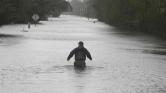 Egy egész városból lett sziget az áradásban Észak-Karolinában