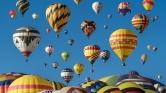 Hőlégballonok százai lepték el az eget Új-Mexikóban – videó
