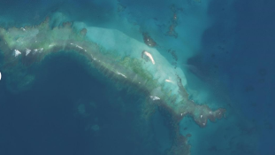 Egy teljes szigetet mosott le a térképről a hurrikán