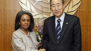 Ő Etiópia első női elnöke