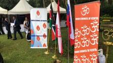 Hindu és közép-európai üzletemberek találkozója Kenyában