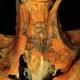 Fiatal nőé a 3 ezer éves tetovált múmia