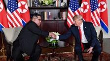 Trump: beleszerettünk egymásba Kim Dzsongunnal