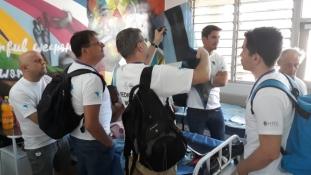Munkában az AHU legújabb missziójának idegsebészei Malawiban