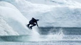Wakeboard a jéghegyek birodalmában – videó