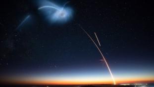 Lélegzetelállító rakétakilövés Kaliforniában – videó