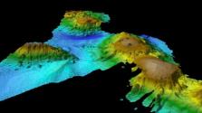 Víz alatti vulkánrendszert fedeztek fel Tasmania partjainál