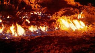 Yanar Dag: a lángoló hegy Azerbajdzsánban