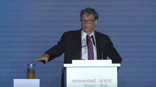 Vécéforradalmat sürget Bill Gates