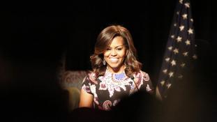 Michelle Obama szupersztár