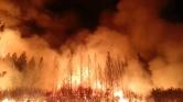 Elpusztított a tűz egy kisvárost Kaliforniában