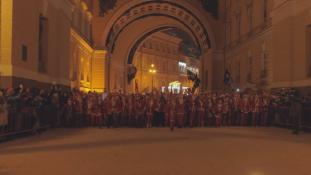Mikulás-maraton Szentpéterváron – videó