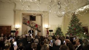 A First Lady fehér karácsonya