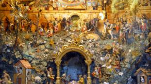 A pápa a fogyasztói társadalmat bírálta karácsonyi miséjén
