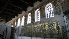 Újra látható a csaknem ezeréves mozaik Betlehemben, a Születés bazilikájában