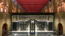 Egy templomban üzemel Európa egyik legnagyobb szuperszámítógépe