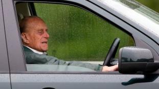 Jobb későn, mint soha – bocsánatot kért Fülöp herceg autóbalesete áldozatától