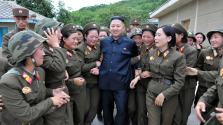 Meglepetés-vizit – Kim Dzsongun Kínában
