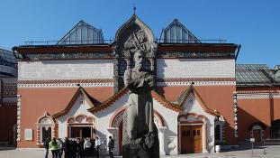 Képrablás a Tretyakov galériában Moszkvában – videó
