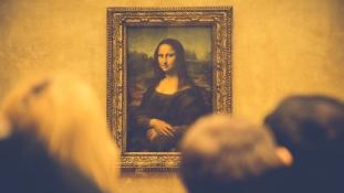 Olasz-francia vita Leonardo da Vinciről