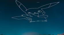 Drónnal fest az égre egy kanadai művész