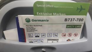 Csődbe ment a Germania légitársaság