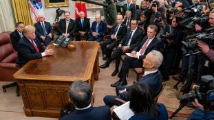 Trump: óriási haladás a kínaiakkal folyó tárgyalásokon