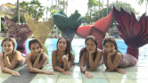 Sellőnek tanulnak az unatkozó hölgyek Malajziában
