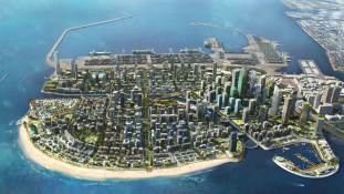 Új Dubaj épül Srí Lankán