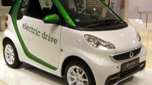 Kínai-német Smart elektromos autó készül Kínában