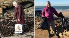 Soha nem késő: 52 strandot takarított ki egy nagymama