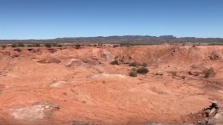 Dinoszaurusztemető Argentínában 220 millió éves fosszíliákkal