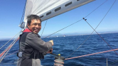 Vakon átvitorlázott a Csendes-óceánon