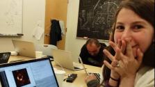 A 29 éves nő, aki 3 évig azon dolgozott, hogy láthassunk egy fekete lyukat