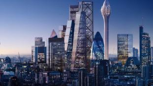 Tulipán alakú felhőkarcoló lesz London legújabb látványossága