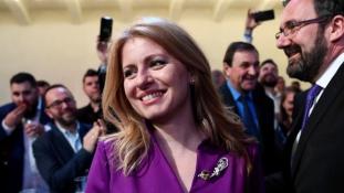 Először választottak nőt Szlovákia elnökévé