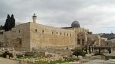 A Notre Dame-mal egy időben kigyulladt az al-Aksza mecset is