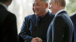 Egynapos orosz-észak-koreai csúcs Vlagyivosztokban