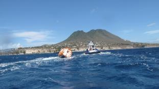 Egy hordóban kelt át az Atlanti-óceánon egy francia férfi