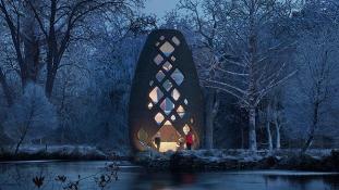 Mars a Földön: ezeket a futurisztikus házakat lehet kibérelni hamarosan New York-ban