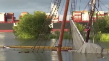 Elsüllyedt a másfél millió euróért felújított 19. századi hajó