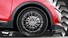 Vége a defekteknek: hamarosan levegő nélküli gumiabroncs kerülhet az autókra
