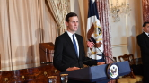 Trump veje a Bilderberg-konferencián ismerteti béketervét