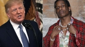 Trump személyesen keresi fel a svéd államfőt A$AP Rocky rapper ügyében