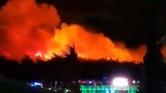 Tűz miatt ki kellett üríteni egy horvát fesztivált