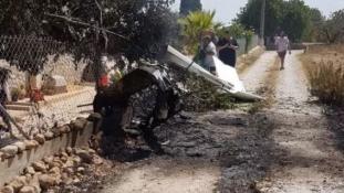 Helikopter ütközött egy kisrepülőgéppel Mallorcán, heten haltak meg a balesetben