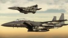 Nem sokon múlt két F-15-ös és két ejtőernyős karambolja