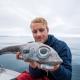 Űrlény-szerű halat fogott egy horgász Norvégia partjainál