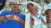 73 éves nő szült ikreket Indiában