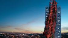 Apokalipszist idéző hajóroncs lehet Prága legújabb felhőkarcolója